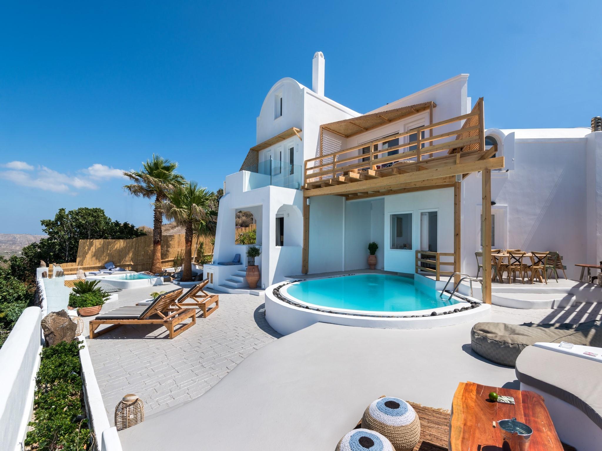 Santorini Summer Love Villa