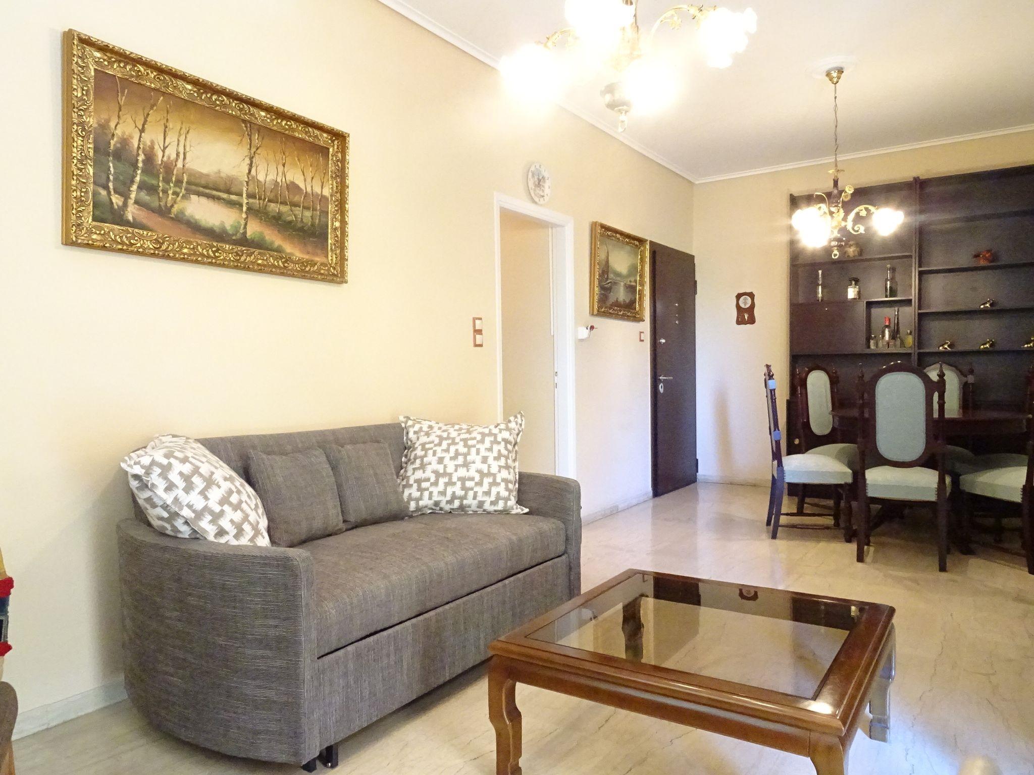 Retro pleasant apartment with Acropolis view