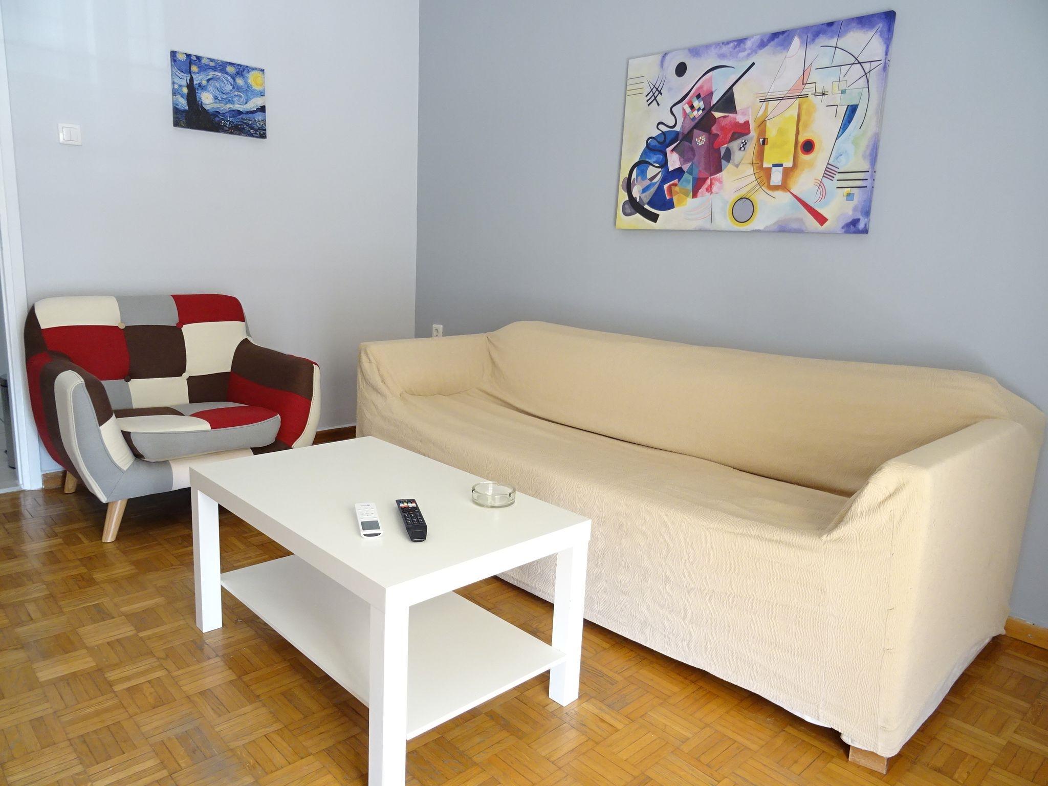 Nice flat near metro Syngrou Fix