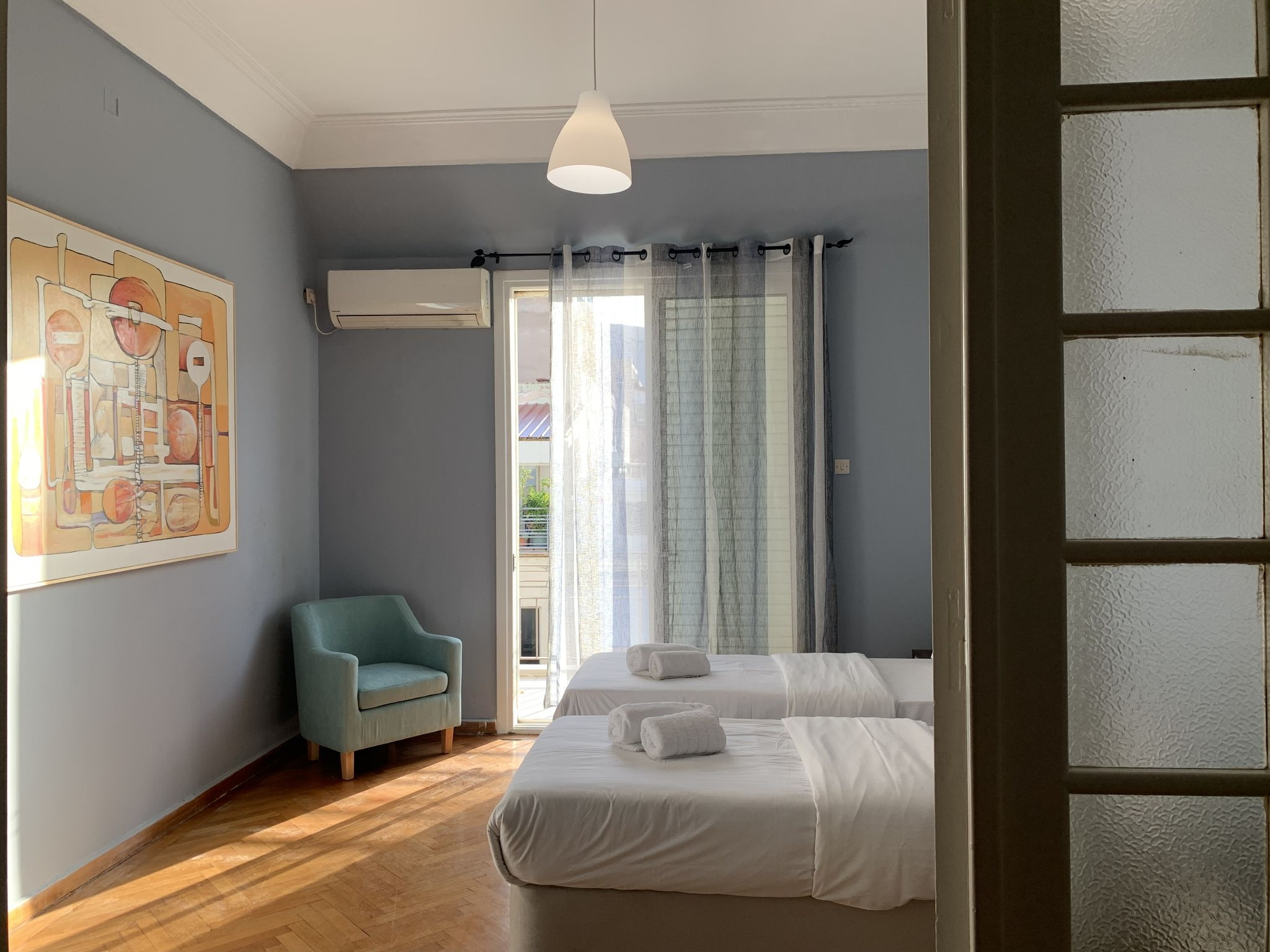 Downtown adorable apartment with Lycabettus view